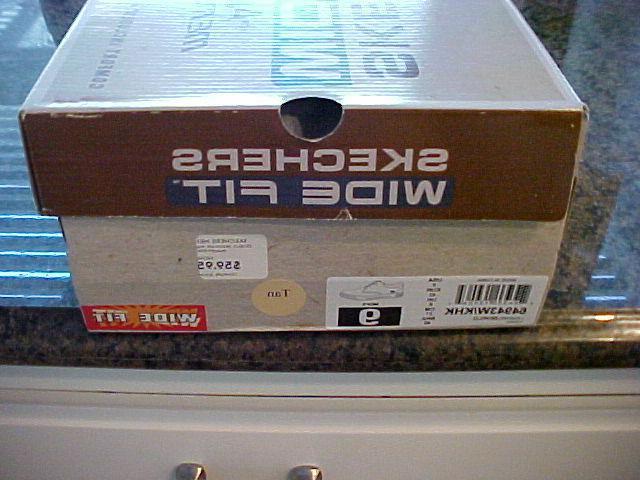 Skechers Porter-Zevelo Sneaker Size Wide Shoes Box