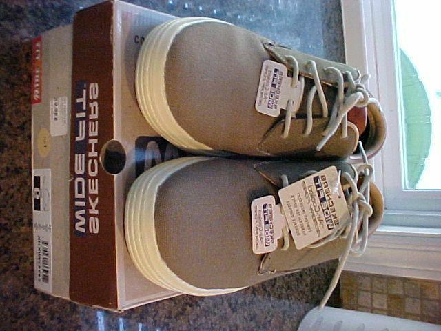 Skechers Mens Sneaker Wide Shoes Box