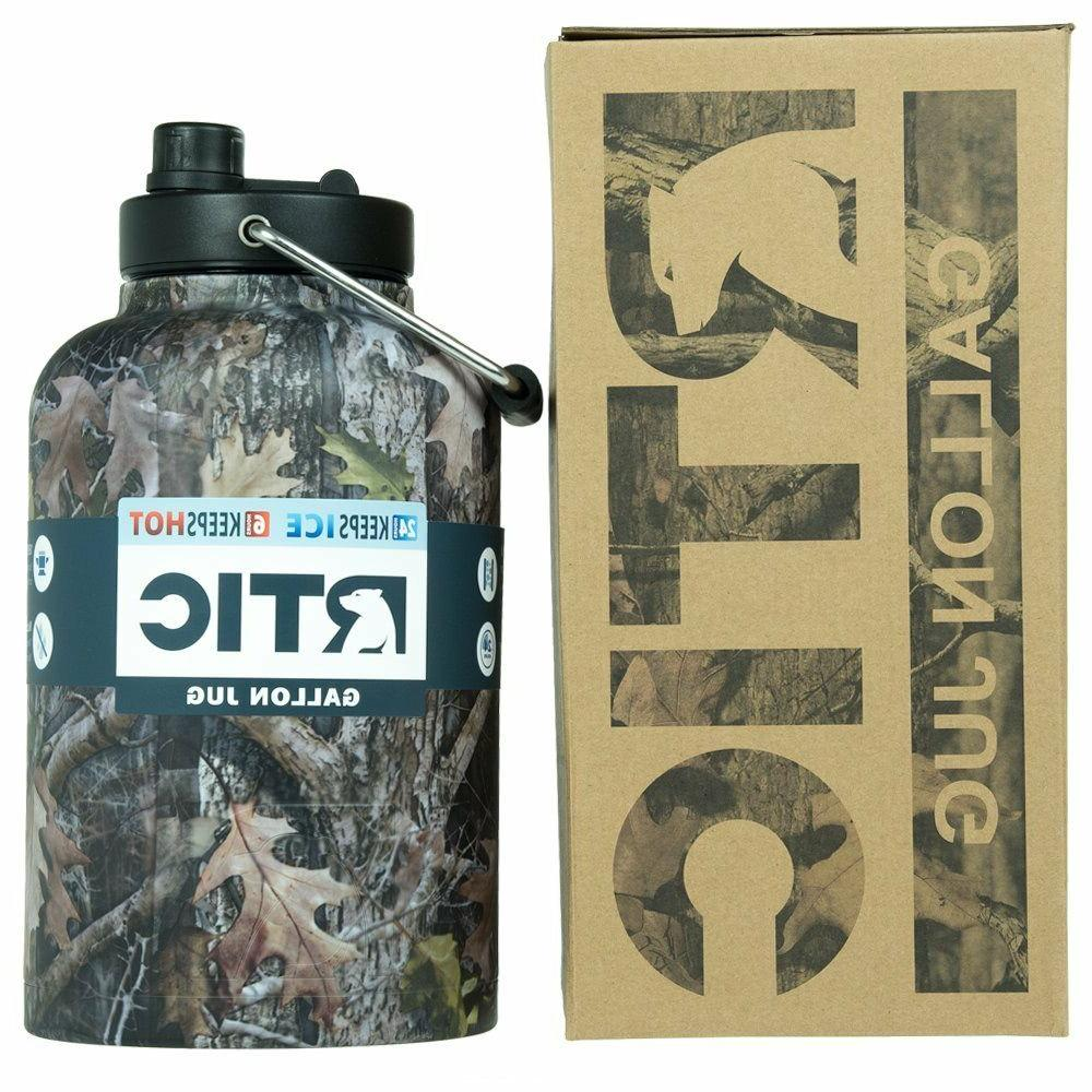 RTIC® 1 Gallon Camo Water Jug / Bottle Insulated Stainless