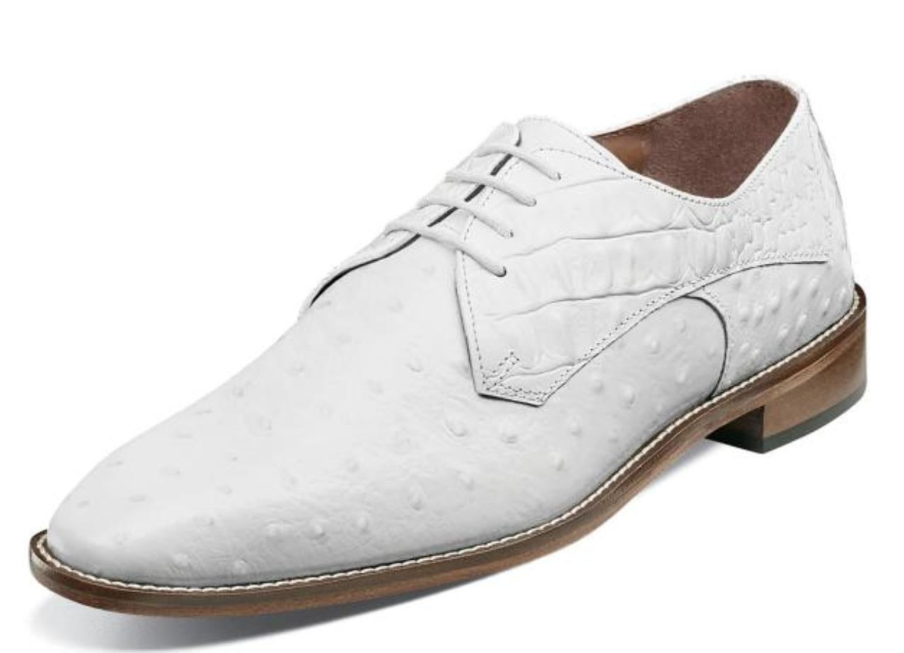 russo men s shoes oxford white 25273