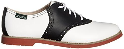 Eastland Women's Sadie Oxford, Black/White,