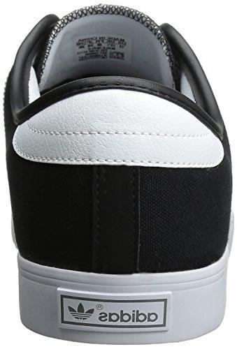 adidas Originals Men's Seeley Lace White Gum, 9.5 US