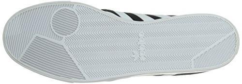 adidas Lace Up Shoe, White Gum, 9.5