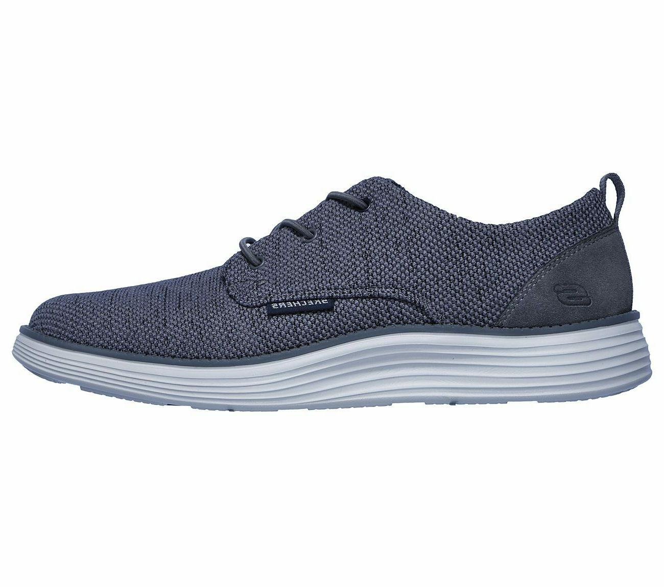 Skechers shoes Men Memory Foam Casual Comfort Soft Woven Mesh Oxford 65900