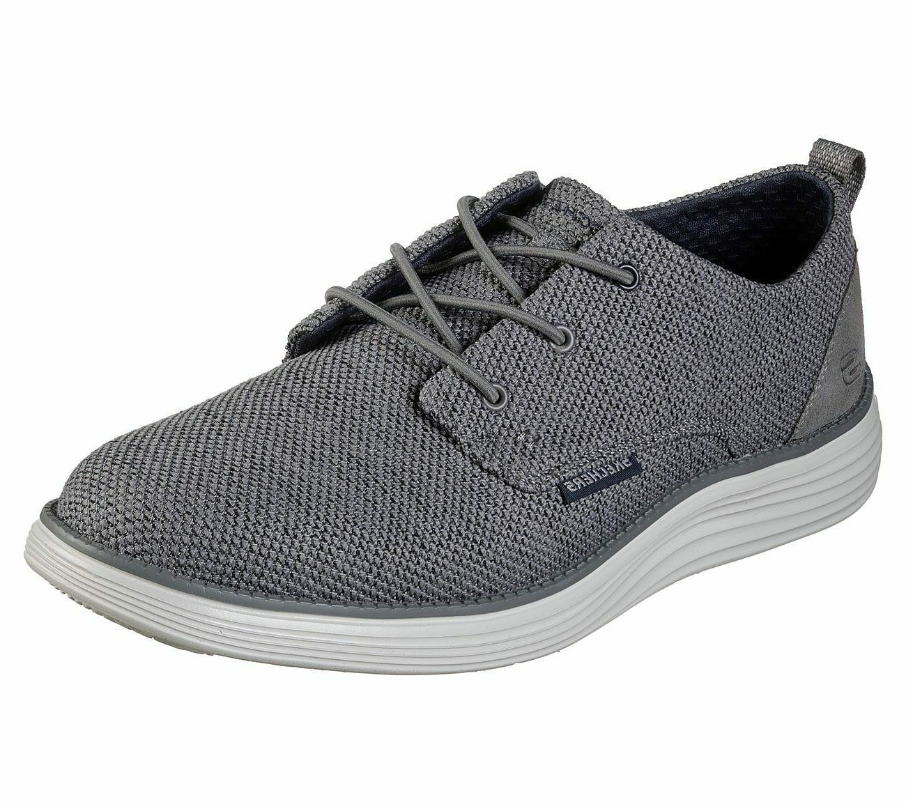 shoes gray men memory foam casual comfort