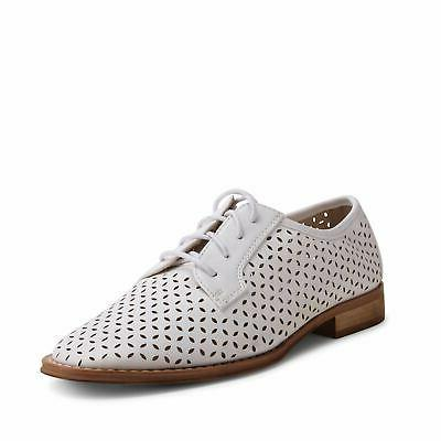 Wanted Shoes Perforated Cutout Wingtip Oxford