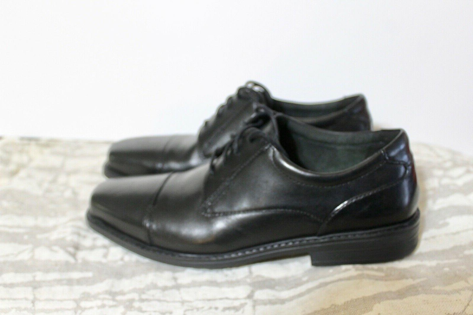 Size 8W Bostonian WENHAM OXFORD leather shoes