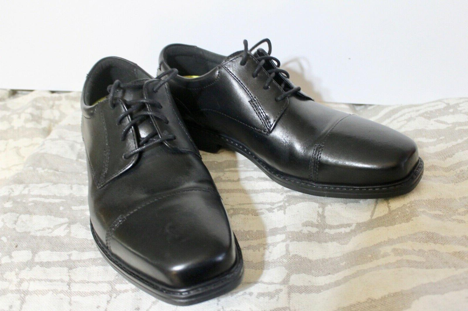 Size 8W Bostonian WENHAM men's leather shoes