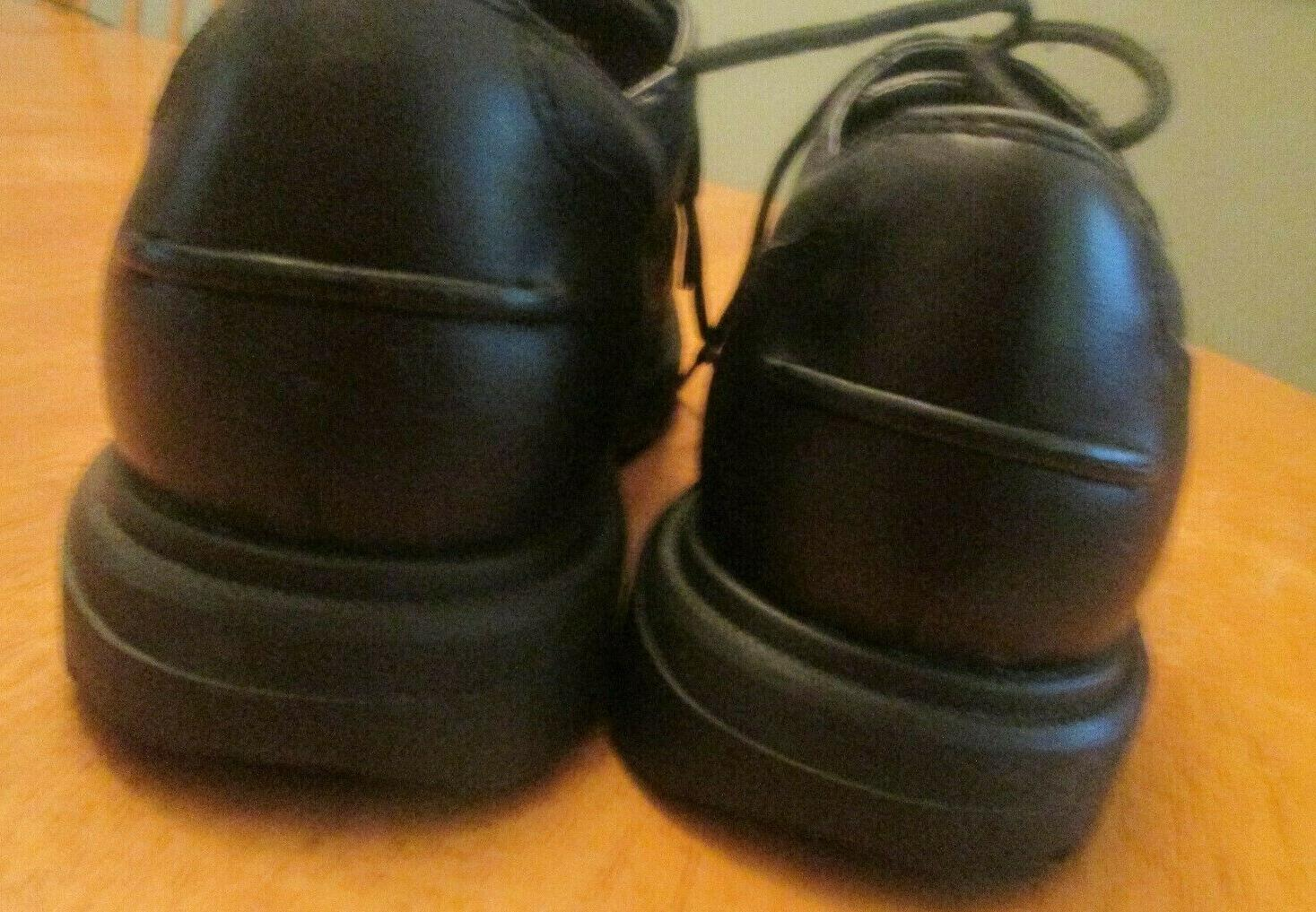 TIMBERLAND COMFORT BLACK LEATHER Oxford Shoes Mens MINT