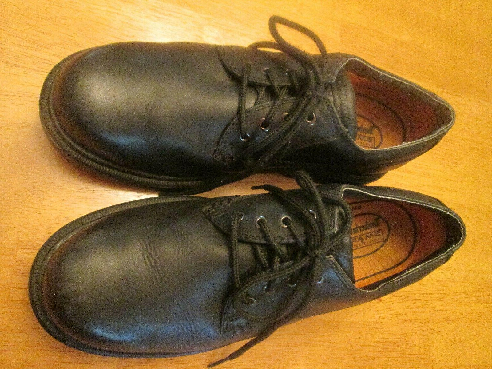 TIMBERLAND BLACK LEATHER Mens MINT