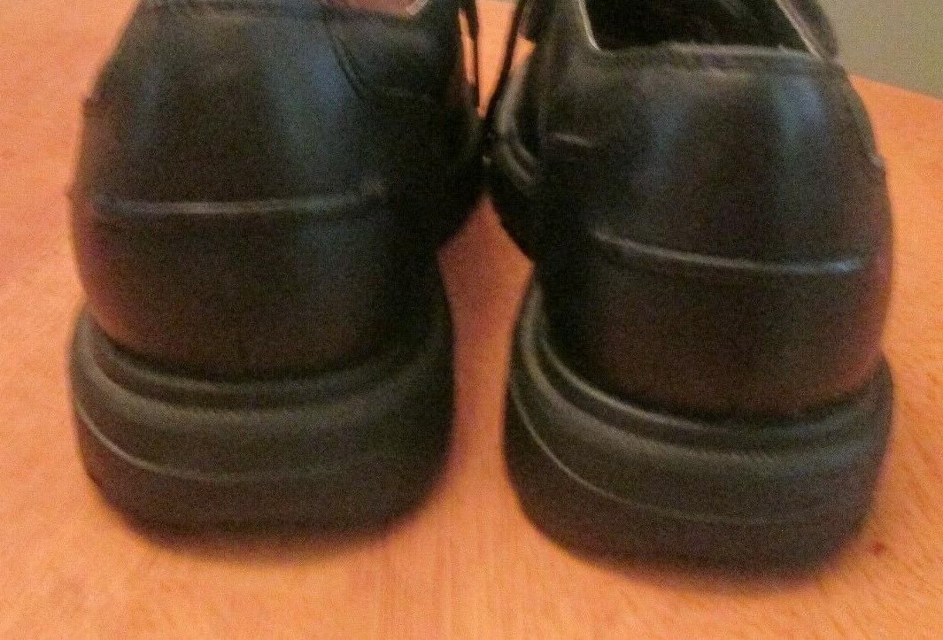 TIMBERLAND SMART COMFORT BLACK LEATHER WATERPROOF Oxford Shoes Mens Sz 8 MINT