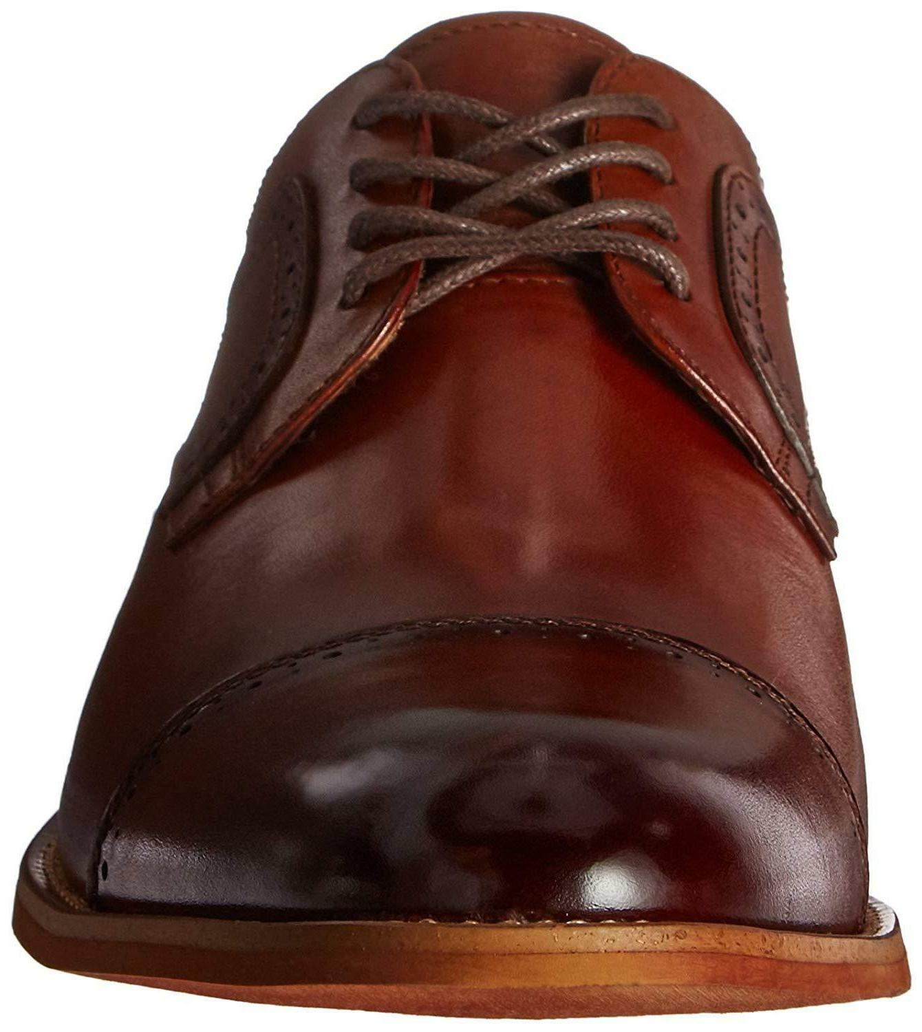 Stacy Adams Cap-Toe Lace-up