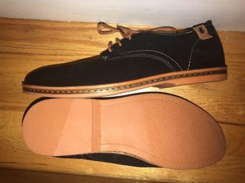 Dadawen Sz 9- 1/2 Men's Leather Oxford Lace Shoes 5