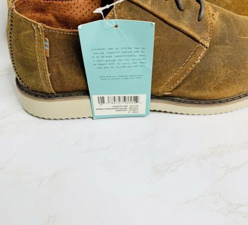 Toms Preston Mens Dress Shoes Brown Leather M