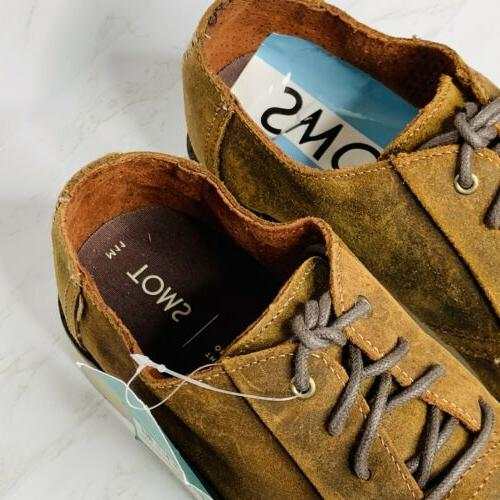 Toms Preston Dress Shoes Leather US11