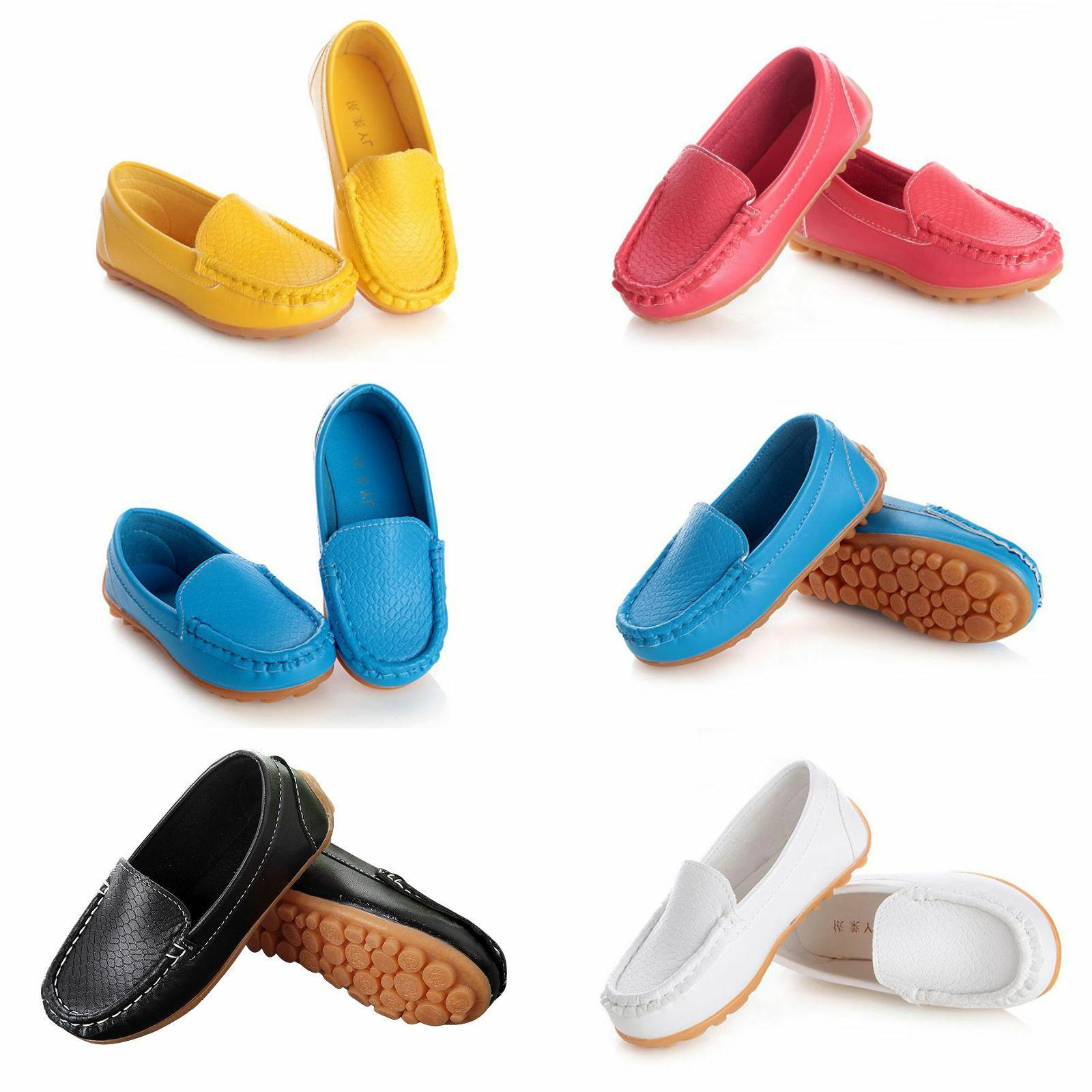 US Kid Toddler On Loafers Flats