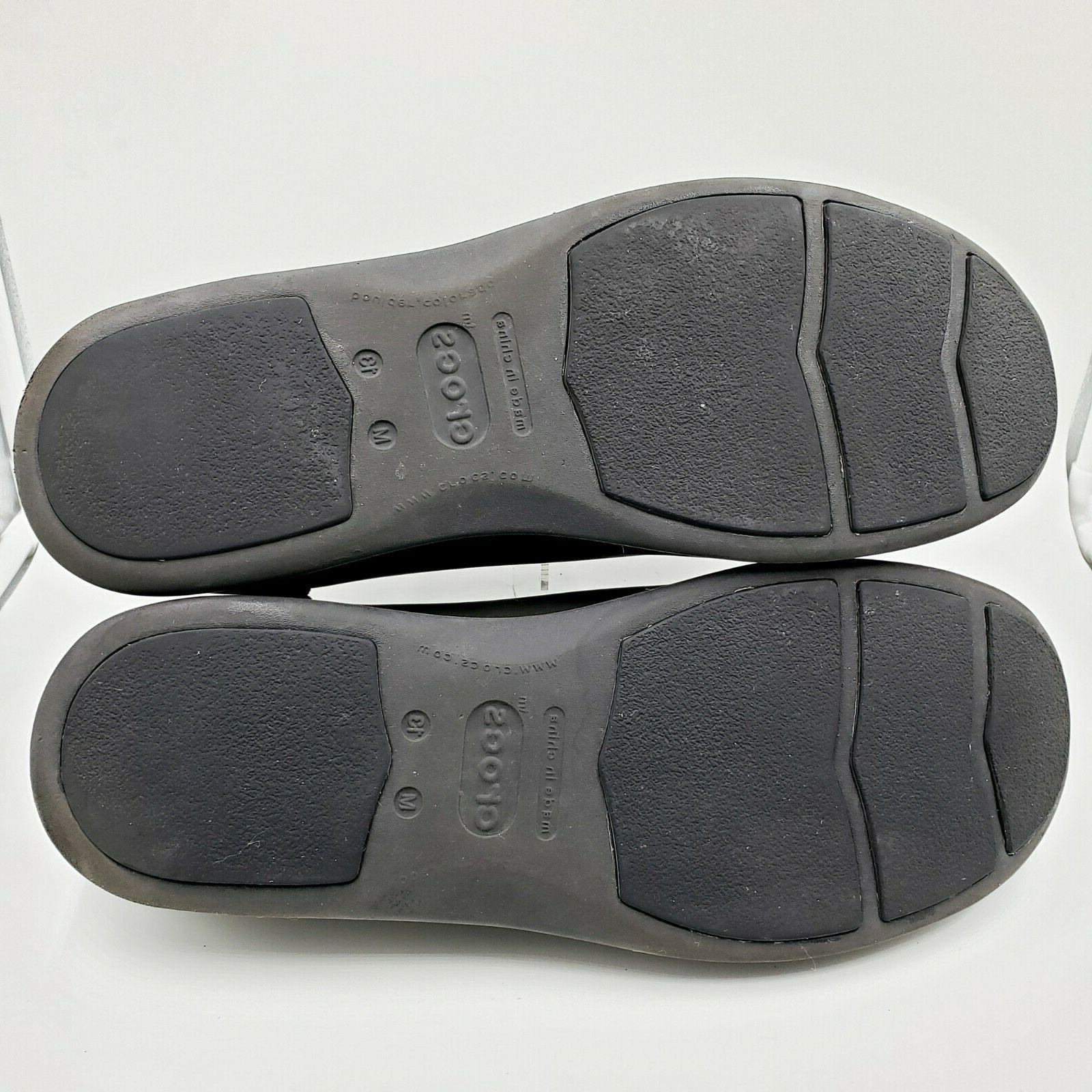 Crocs Venture Leather Casual Sneaker Men's