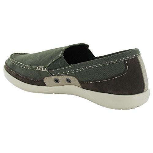 Crocs Mens Slip On Army Green/Stucco,