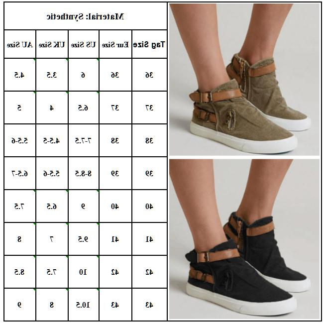 Womens Sneakers Oxfords Casual Trainers