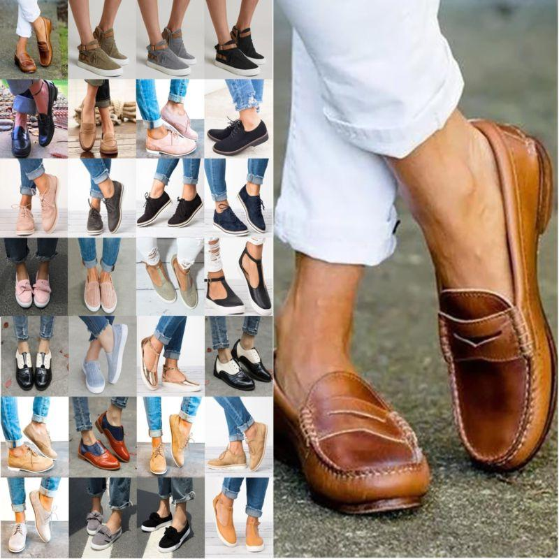 Womens On Sneakers Oxfords