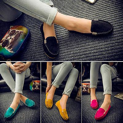 Women On Loafers Casual Ballet Shoes US