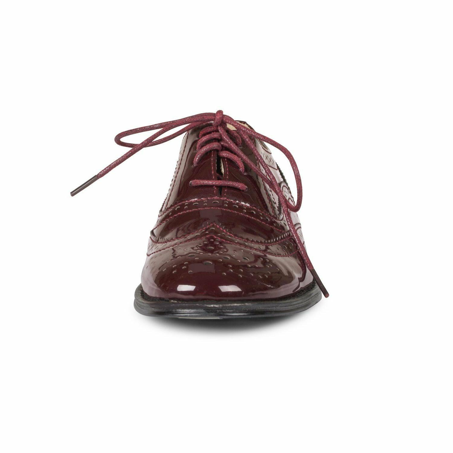 Wanted Women's Patent Oxford Size