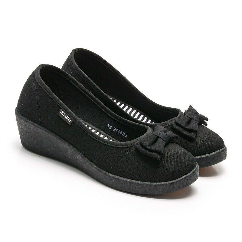 Women's Casual Slip On Leather Driving