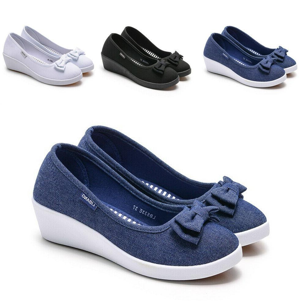 women s casual slip on leather shoes