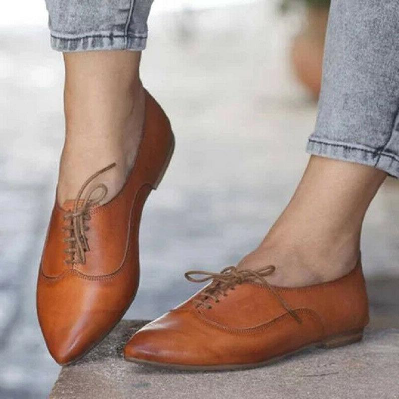 Women's Flat Brogues Shoes