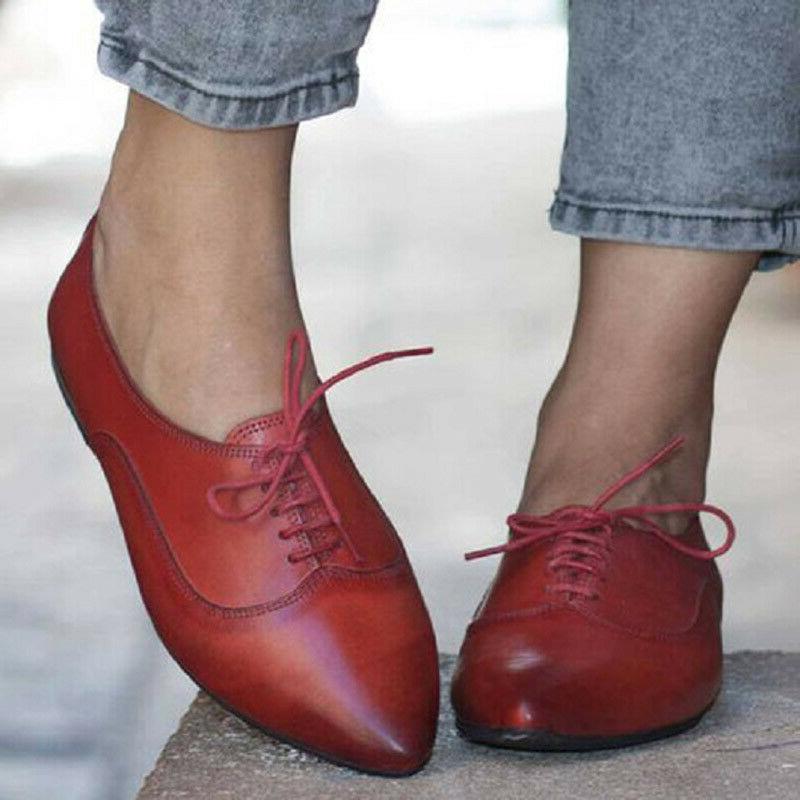 Women's Brogues Toe Shoes