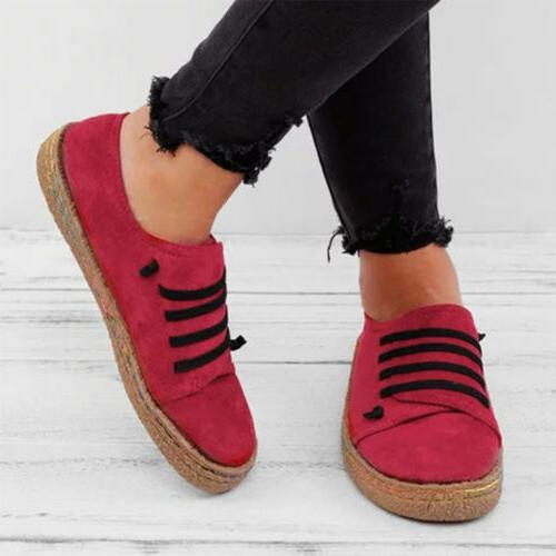 Women's Sneakers Shoes Moccasins Flats US