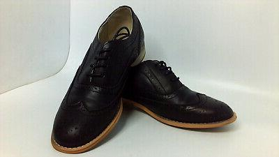 Wanted Shoes Womens Almond Toe Oxfords, Size 10.0