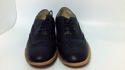 womens babe almond toe oxfords black natural
