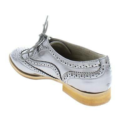Wanted Womens Faux Leather Oxfords Shoes BHFO