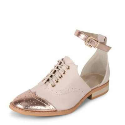 Wanted Cherub Cap Ankle Oxfords