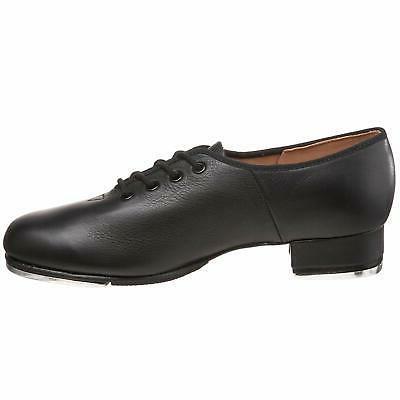 Bloch Economy Leather Toe Oxfords, Black,