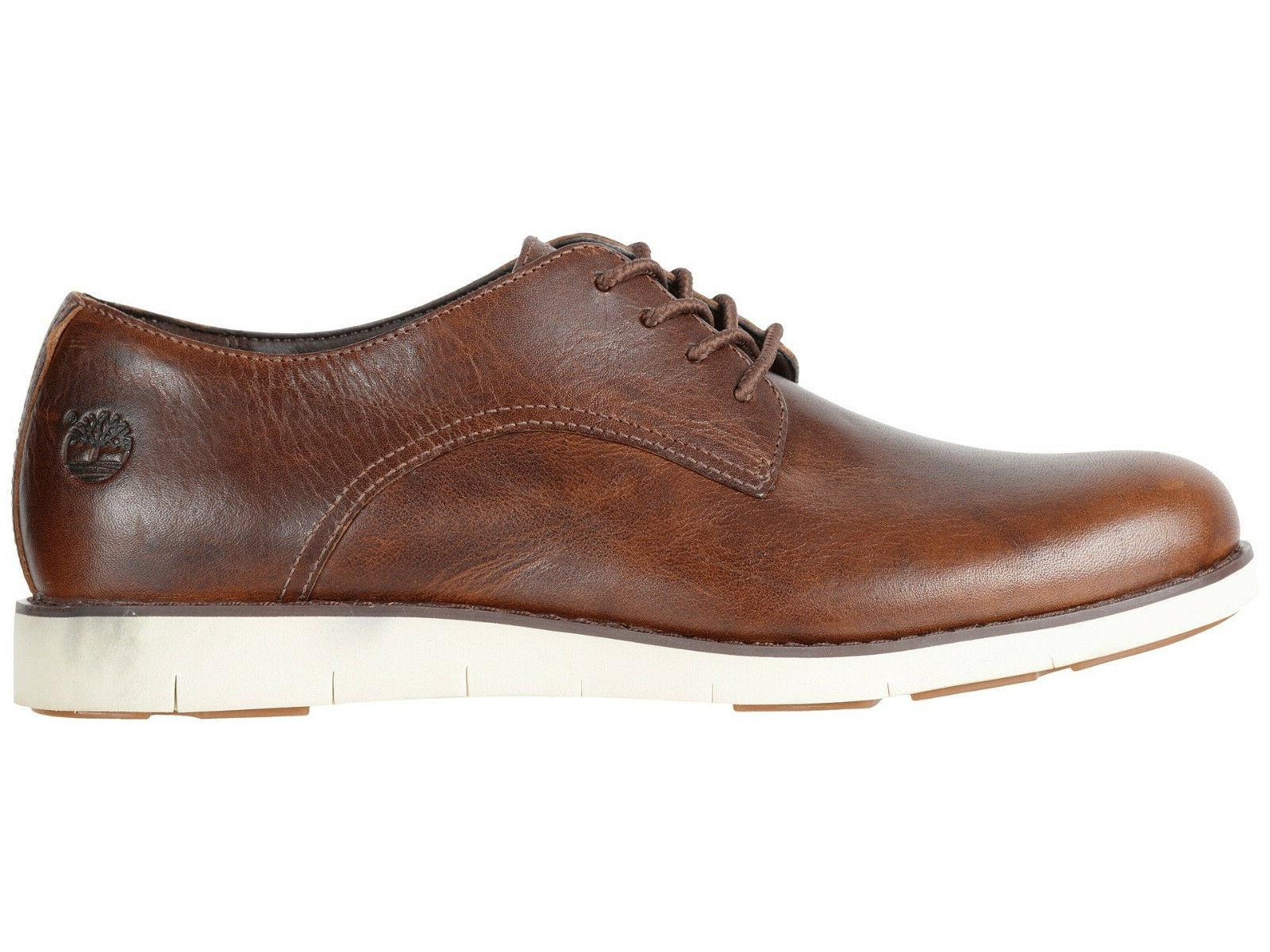 Womens Oxford Lakeville Brown Leather Oxfords Shoes NEW