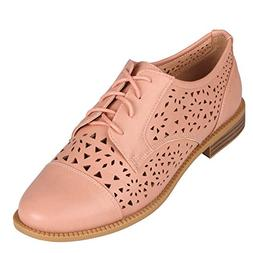 "Wanted ""Bains"" Laser Cut Lace up Oxford -"
