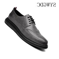 SYWGDC Leather Formal <font><b>Men</b></font> Dress <font><b