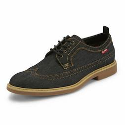 Levi's Mens Tindal Denim Casual Wingtip Lace-up Brogued Oxfo