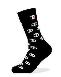Champion Life Crew Socks Embroidered Allover C Logo Mens Wom
