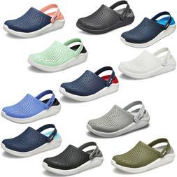 Crocs LiteRide Clogs Unisex Summer Lightweight Padded Slip O