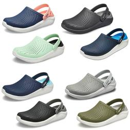 Crocs LiteRide Clogs Unisex Summer Lightweight Padded Slip O