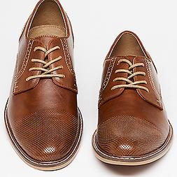 Madden Men's M-alk Oxford Cap Toe Cognac Men's Size 11
