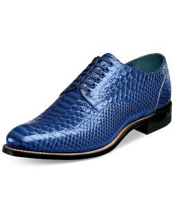Stacy Adams Madison Plain Toe Oxfords - Blue 12 D, Blue