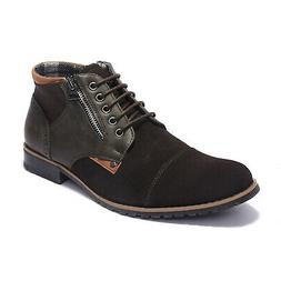 Bruno Marc Men's Chukka Suede Leather Chukka Oxford Ankle Bo