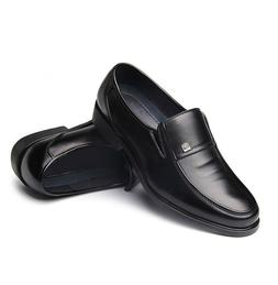Men Business Dress Comfort Loafers Formal Oxford Slip On Moc