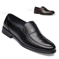 Men Comfort Loafers Driving Shoes Business Dress Formal Oxfo
