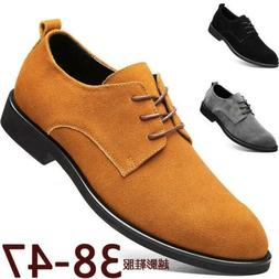 Men Cow Leather Business Formal Dress Shoes Wedding Lace Up