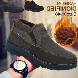 Men Oxford Loafer Shoes Moccasin Business Ankle Boot Driving